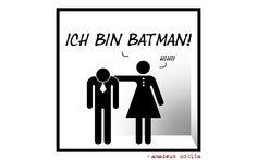 Comic No 0198 - Ich bin Batman!
