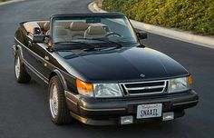 1992 Saab 900 Turbo Convertible In Santa Monica, California USA