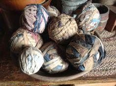 Old rag balls