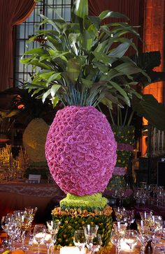 Have always loved this one. http://inspirations.prestonbailey.com/files/2012/07/TropicalCenterpiece2.jpg