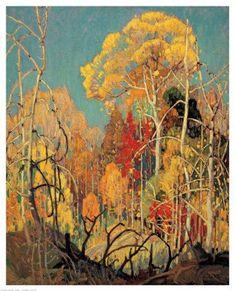 Franklin Carmichael #tree #art