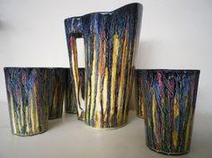 glassware vintage | Glassware Vintage Glasses Set