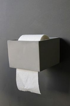 We Are Always On The Hunt For Fabulous Accessories For The Home And Love  This Simple But Striking Concrete Toilet Roll Holder Matching Accessories