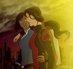 Korrasami coming out of the spirit portal like in the new comic promo art . Anyone notice that korra has held the attraction of all team avatar members?