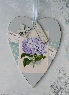 May 15 17 Lace Heart, Heart Art, Heart Collage, Decoupage, Valentine Crafts, Valentines, Diy And Crafts, Arts And Crafts, I Love Heart