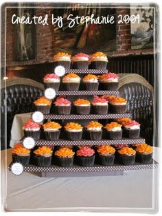 DIY Tiered Cupcake Stands   I♥cuppycakes!