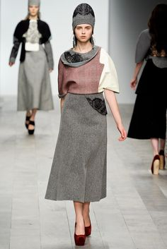 Central Saint Martins Fall 2011 Ready-to-Wear Fashion Show - **Raffaele Ascione**
