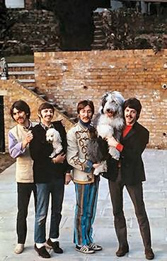 Beatles at Sunny Heights. 1967.