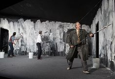 "Ibsen's 'An Enemy of the People'(1882): Tarragon, 2014, based on a 2012 Berlin production. Dir. Richard Rose: The show speaks 'directly to current global struggles: environment v. economy... conscience & comfort: censored scientists, environmental crises, anarchist manifestos, the pitfalls of majority rule.' Rose recalls: ""Tar sands, climate change, fracking, pipelines, Walkerton, cod & salmon fisheries, tailing ponds & ethical oil - all came to mind (& I knew) we had to produce…"