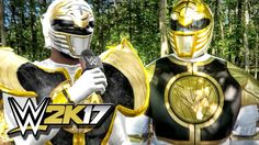 WWE 2K17 MY CAREER GAMEPLAY - POWER RANGER IRL PROMO & 1ST MATCH! Ep. 1
