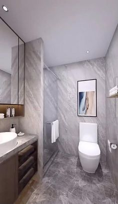 Toilet And Bathroom Design, Washroom Design, Bathroom Design Luxury, Master Bathroom, Cozy Bathroom, Comfort Room Tiles Small Bathrooms, 5x7 Bathroom Layout, Basement Bathroom Ideas, Modern Toilet Design