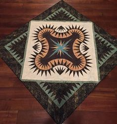 Golden Harvest, Quiltworx.com, Made by Suzanne Hall