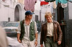 Spy Game-Robert Redford and Brad Pit