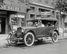 Nash on Nails, Lee Tire Co. test, Wash., DC, 1922