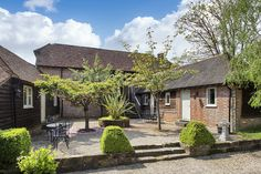 Fair Oak Farm - Picturesque country retreat for 36 people in East Sussex. Hay Barn, Fair Oaks, Holiday Accommodation, Country Estate, East Sussex, Yoga Retreat, England Uk, Pergola, Cottage
