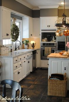 Gorgeous kitchen at Dear Lillie: Matt and Meredith