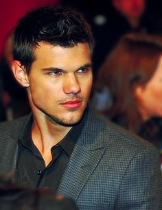 Taylor Lautner-Idc, idc, idc! And those abs...hunny! #severe