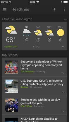 #flatui #listview #weatherapp