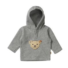 This Warm, Cozy #Steiff fleece pullover has the sweetest #teddybear touch and will instantly become a favorite for your #toddler