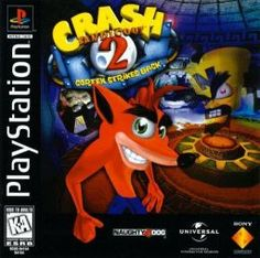 "Crash Bandicoot 2- The art style of the game has been kept the same through out the series, the only difference is the graphics have become better in quality.All the characters have odd proportions , for example Doctor Neo Cortex has a enlarged head to show a physical side to his ""brains""."