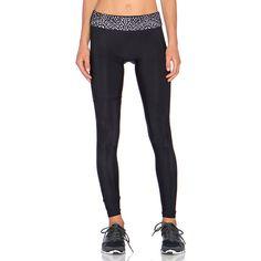 Blue Life Lasercut Legging Activewear ($110) ❤ liked on Polyvore featuring activewear and activewear pants