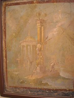 Landscape from Pompeii or Herculaneum - Naples, Archaeological Museum