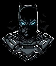 """Принт для интернет-магазина """"Индивид"""". Batman (BATBOX) on Behance"""