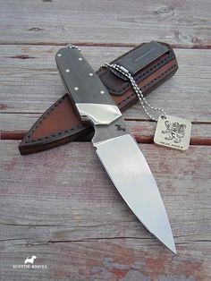 "Scottie Knives, EDC sgian dubh ""Highlander"" #scottie_knives"