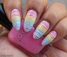50 Stylish Sugar Spun nails