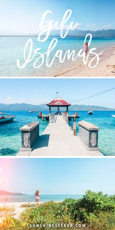 The ultimate guide to the Gili Islands, Indonesia - Gili T, Gili Air & Gili Meno. Just two hours from Bali! Everything you need to know about where to stay, where to eat and what to do! Cool Places To Visit, Places To Travel, Travel Destinations, Bali Travel Guide, Asia Travel, Ubud, Phuket, Voyager Seul, Voyage Bali