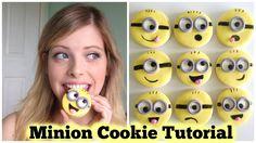Minion Cookies - Easy DIY Decorating Tutorial