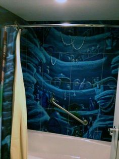 Because I'd want to, and singing part of your world in the shower would be a thing