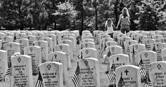 Gone but never forgotten.   Pictured: Georgia National Cemetery in Canton [Photo Credit: 7austins, Flickr]