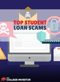 The most common student loan scams involve paying fees to consolidate or to get forgiveness and gimmicks to eliminate your loan debt. Home Renovation Loan, Home Equity Loan, Unsecured Loans, Refinance Mortgage, Saving For College, Home Improvement Loans, Student Loan Debt, Forgiveness, Interest Rates