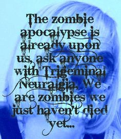 We are #thewalkingdead we just haven't died yet!