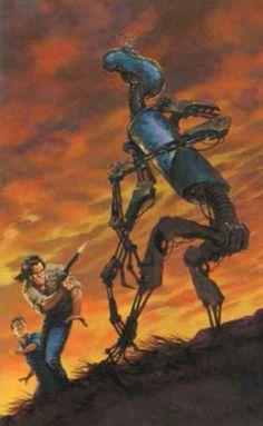 Andy the Messenger Robot - Dark Tower series