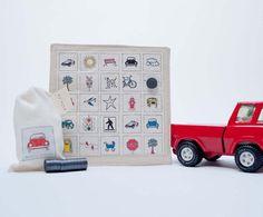 car bingo game. $36.00, via Etsy.