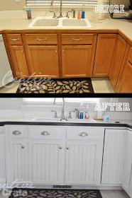 The CrEaTiVe CraTe: My {Kitchen Cabinet} Transformation!
