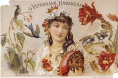 La Victoriana Habanera,vintage poster