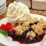 Edna's Blueberry Cobbler By Executive Chef John Zehnder!