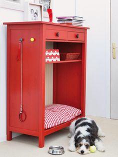 Cómo convertir un mueble auxiliar en una cama para perro / Bricolaje / DIY / bed for dogs / Mediterranean Natural