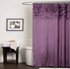 Las cortinas de baño en la decoración de la casa
