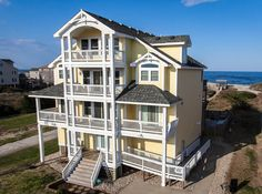 OUTER BANKS OCEANFRONT IN NAGS HEAD, NC ~ 8 bedrooms ~ 8.2 baths ~ 5,008 square feet ~ Located on a wide, uncrowded beach, this spectacular home is a solid investment. Exquisite upgrades, top of the line furnishings and lush amenities make this a home to be remembered. ~ The outdoor living area was updated in 2015 and has plenty of room for outdoor fun. ~ Contact Barry at 252-202-1043 for more information ~ Offered at $1,955,000 ~ MLS #89684 ~ www.obxsales.com