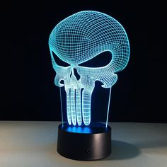 Careful 1piece 3d Hologram Illusion Butterfly Fashion Modeling Nightlight Color Changing Led Table Light Novelty Baby Night Light Lamp Suitable For Men And Women Of All Ages In All Seasons Lights & Lighting