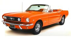 You know Mary loves an orange convertible!