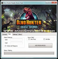 Dino Hunter Deadly Shores Hack ~ AnnonimusHacks