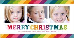 Merriest Rainbow Christmas Card