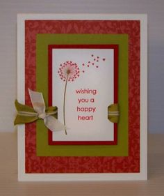 Blowin' Some Lovin' Your Way by tjdstampsalot - Cards and Paper Crafts at Splitcoaststampers