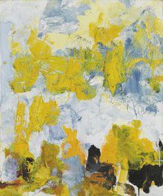 Joan Mitchell (American, 1925-1992), Manhattan, 1979. Oil on canvas,61 x 50cm.