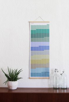 Wall calendar 2017 Planner 2017 pastel aqua turquoise nature English-German printed on both sides Limited Edition Wall Planner, 2017 Planner, Office Calendar, Cool Calendars, Aqua, Turquoise, Calendar Design, Pastel Colors, Layout Design